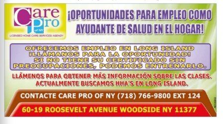 trabajo new york